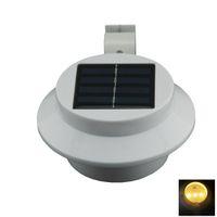 mini solar light garden - DHL Outdoor W LED Warm Cool White Light Mini Waterproof Solar Powered Fence Garden Wall Lamp W1530