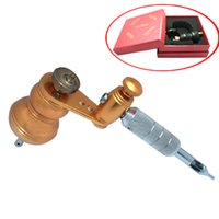 alloy machine works - New Bronze Rotary Alloy Tattoo amp Body Art Machine for Liner Shader Works