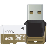 Wholesale 2015 GB GB GB microSDXC UHS II X High Performance U3 Memory Card USB Reader Pack MB s for tablet PC