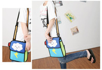 bag lady papers - Fashion D Bags Novelty comic jump From Paper Cartoon Bags D Drawing Cartoon Comic Handbag Lady Shoulder Bags Carry in Space