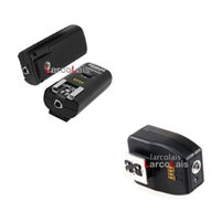 Wholesale Three Receivers Wireless Flash Trigger RF Remote Control Shutter Release for Nikon D90 D5000 RF602
