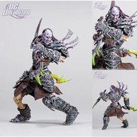 Wholesale 20CM DC Unlimited WOW World of Warcraft SERIES Undead Rogue Skeeve Sorrowblade PVC Action Figure Collectable Game Toys Doll