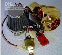 Wholesale 125CC CC CC electric turbocharger electronic turbochargers motorcycle modification