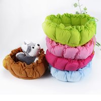 Wholesale Cute Pet Puppy Dogs Cat Bed Sleeping Bag Cute Cushion Mat Kennel Nest Warm House LX0185