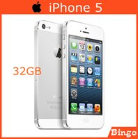 Wholesale Original iPhone GB Unlocked Mobile phone Dual core inches MP Camera G RAM WIFI GPS Cell Phone dropshipping
