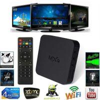 Wholesale 2016 Neu MXQ TV Box Quad Core OctaCore XBMC Media Player Android Kit Kat Fully Load