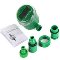 automatic water controller - Home Automatic Electronic Water Timer Garden Irrigation Controller Digital Intelligence Watering System LCD Waterproof