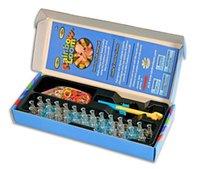 Cheap 2014 Hot Sale Christmas Gifts Original Rainbow Loom 2.0 Starter Kit Set with Metal Hook Tool DIY Bracelet For Kids