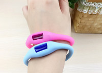 Cheap Free shipping In stock mosquito repellent wristband for Baby insect repellent bracelet