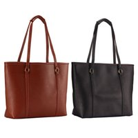 Wholesale 2015 New Style Simple Fashion Famous Designers Brand handbags Large Capacity Women Bags PU LEATHER BAGS Shoulder Tote Bags Big