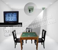 Wholesale XF PTZ cheating camera to see backside marked card gamble cheat poker cheat Poker Analyzer magic poker Card magic magic tricks cards game