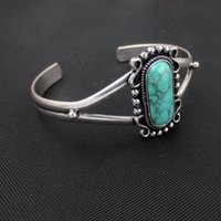 bella swan fashion - New Fashion Movie Jewelry Beautiful Bella Swan Vampire Diaries Turquoise Silver Bangle Women Jewelry
