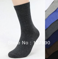 bacteria animal - Man Socks Cotton Hosiery Sock Pure Color Classic Business Socks gentleman Anti bacteria Excellent Sock