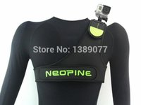 Wholesale chest elegant and durable strap for outdoor for Go pro and SJ4000 adjustable Pure Color
