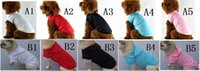 Spring/Summer blank hoodie - dog summer plain sports wear pet blank apparel puppies hoodie chien casual hoody perros tee shirt poodle sweater maltese clothes
