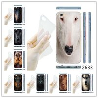 pit bull - For iphone American Pit Bull Terrier Animals D Pattern Ultra Thin TPU Case For iPhone Plus