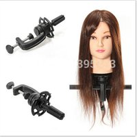 Wholesale Adjustable Head Clamp Stand For Salon Hair Practise Hair Salon Pratice Stand Hairdressing Head Mannequin Display Holder