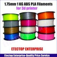 Wholesale Factory KG mm mm PLA ABS D Printer Filaments Plastic Rubber Consumables Material MakerBot RepRap UP Mendel colors