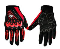 american football gloves - Hot Sale Fashion Sports Motorbike Motorcycle Gloves american football gloves Mesh Fabric Summer Gloves Popular Leather