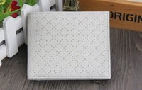band purses - 2015 Korean Band Soft Leathe Wallet For Men Women Ventilate Short Design Purse With Small Hole Breathing Wallet Unisex White Color