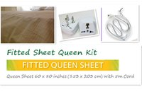 antimicrobial fabrics - Earthing Sheet x cm Silver Antimicrobial Fabric Conductive fabric earthing EARTHING Fitted Sheet