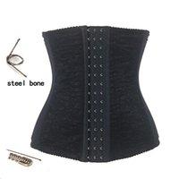 Wholesale Sexy Lingerie Waist Tummy Girdle Belt Body Shaper Steel Boned Waist Cincher Underbust Control Corset