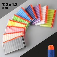Wholesale 500PCS Multicolor Nerf N strike Elite Rampage Retaliator Series Blasters Refill Clip Darts electric toy guns soft nerf bullet