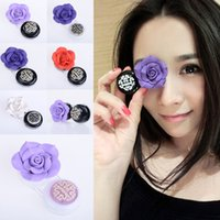 fashion contact lenses - Fashion Handmade Rose Contact Lenses Box D Camellia Contact Lens Compact Case