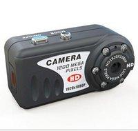 Wholesale Novas cameras em miniatura de visao noturna infravermelha MINI DV HD P MINI camera gratis frete