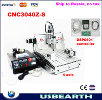 cnc - CNC Z S axis cnc router Drilling Milling Machine CNC engraving machine with DSP0501 controller Russia no tax