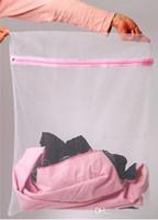 Wholesale 30 CM Washing Machine Specialized Underwear Washing Bag Mesh Bag Bra Washing Care Laundry Bag Via EMS L30771