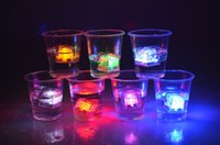 Christmas drinking water - 960PCS Carton Flash Ice Cube Water Actived Flash Led Light Put Into Water Drink Flash Automatically for Party Wedding Bars Christmas