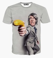 banana gun - Mikeal Men s summer t shirt creative print a banana gun person cartoon t shirt d funny tshirt tops men clothing