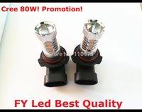 automotive bulbs - W Seoul HB3 LED Fog Light Bulb V car driving DRL Lamp Xenon White Automotive Led Head Lighting