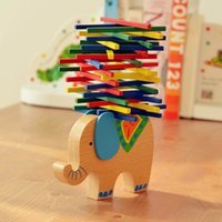 balance beams - Export elephant camel color stick balance beam parents paternity toys puzzle game for children