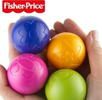 Wholesale DHL EMS Infant Baby Ball Toys Fisher Price Rustle Grip Grasping Bouncing Ball
