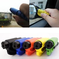 Wholesale Car Emergency Safety Hammer Seat Belt Cutter Glass Window Breaker Car life saver SOS Whistle