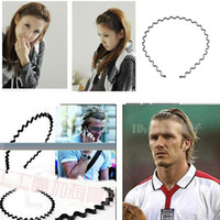 Wholesale Steel wire headband Wire short hair bands with teeth Korea rivets issuing new black hair bands hair bands hair accessories hairpin bellows