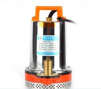 Wholesale New Submersible DC12V Solar Well Water Pump Solar Battery Pump Electric Pump for Agriculture