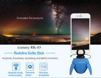 Wholesale RK Remote Elf Mini Panorama Robot For Selfie Sticks Photography With Gopro Adapter Bluetooth Remote Control Shoting Factory