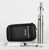 vape pen - eGo TVR W box Mod USB passthrough Electronic Cigarette mah battery with ecigarettes Atlantis Atomizers Vaporizer vape pens starter kit