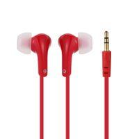 Wholesale In ear Binaural Stereo Headset mm Audio Plug Outdoor Indoor Sport Music Earphone Headphone White for iPhone Samsung MP4 order lt no track