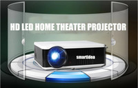 DLP Home Yes Wholesale-Cheapest !! Native 800x600pixels 3000lumens 3D LED LCD Digital Projector Multimedia TV Proyector Beam with 3000:1 Contrast Ratio