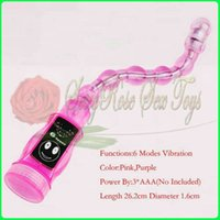 Wholesale D0469 speed anal vibrators anal plug vibration beads anal sex toy Sex products Adult toy