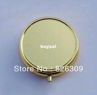 metal pill box - Golden Pill Boxes DIY Metal Pill Organizer pill case container pnm1