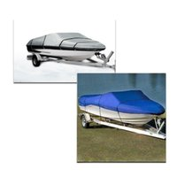 Wholesale Water Resistant Waterproof D Speedboat Boat Covers Car Covers ft Beam quot Fish Ski V Hull Weather Proof UV Protected
