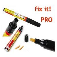 Wholesale 100pcs Fix it PRO Painting Pen Car Scratch remover pen Repair for Simoniz clear coat applicator