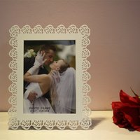 wood picture frame - White Rose Love Wooden Photo Frame Ikea Style White Sweet Lover Picture Frames For Gifts Or Home Decoratives w2414