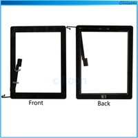 parts for - 15PCS For iPad Touch Screen Digitizer Assembly Touch Panel Fornt Glass Lens Replacement Part for iPad Flex Home Button DHL