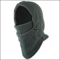 Wholesale Top quality Thermal Fleece Balaclava Hood Police Swat Ski Bike Wind Winter Stopper Face Mask